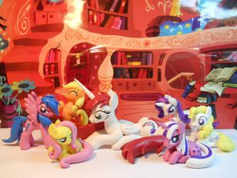 Lauren Faust OC + Main Six Concept Ponies! by EarthenPony