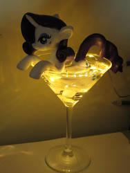 Rarity Martini by EarthenPony
