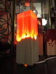 Fire Lamp! by EarthenPony