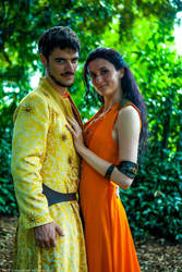 Oberyn and Ellaria by Aniki-Fair