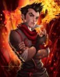 Mako - Conflagration by MirRoriel