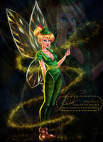 Disney Outfit Swap 6: Tinkerbell + Homie by MirRoriel