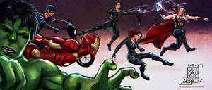 Avengers Assemble by MirRoriel
