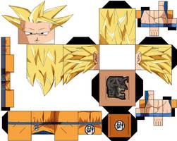 Goku ssj3 bog by hollowkingking