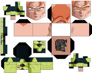 Android 16 by hollowkingking