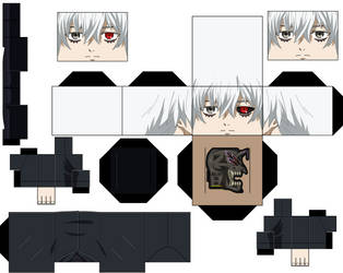 ken kaneki post Dragon anime by hollowkingking