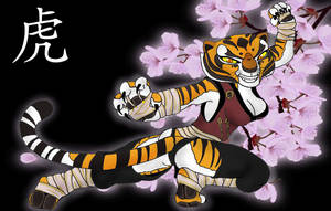Master Tigress by K-o-v-u