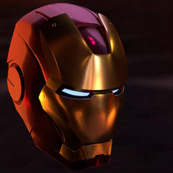 WIP: Iron Man Mark 3 Mask by simzcom