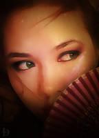 Fan portrait 1 by DJMadameNoir