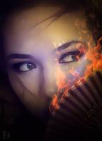 Fan Portrait 2 by DJMadameNoir