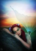The mermaid by DJMadameNoir