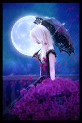 Rain Blossom by DJMadameNoir
