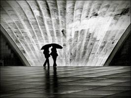 Paris III: La Pluie by sensorfleck