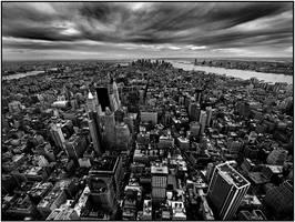 Downtown NYC by sensorfleck