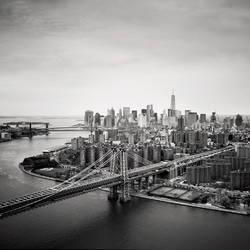 NYC Aerial #02 by sensorfleck
