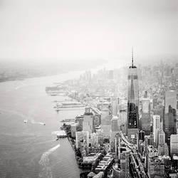 NYC Aerial #03 by sensorfleck