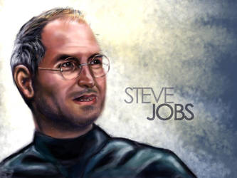 Steve Jobs by TheArtofDesigning