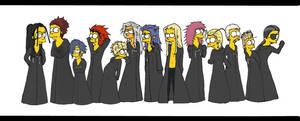 OrganizationXIII- Simpsons by Sukkahousu