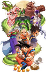Dragon Ball by MiaCabrera