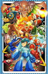 Mega Man 2 by MiaCabrera