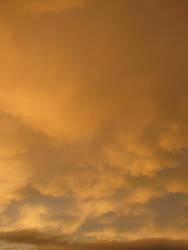 Orange Cloud Stock 2 by Cinnamoncandy-Stock