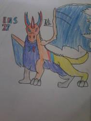 Mugon the Mutant Dragon by KNS27