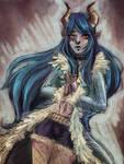 Eris in Blue by ClaretClarinets