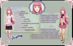 AnE OC - Hirano Yuna - Ref Sheet by Miisu