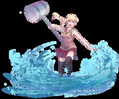 Daughter of Noekken by Miisu