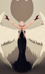 Angels Fall by Miisu