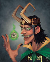 Loki: Yearbook Photo by GhostHause