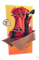 Hellboy by GhostHause