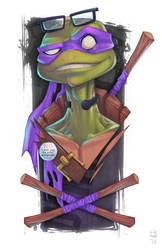 Donatello Does Machines. by GhostHause