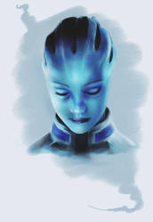 Mass Effect - Liara by MissPendleton