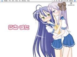 Desktop - Lucky Star by norcalblue
