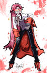 Grell Sutcliff commission by Mordor-in-love