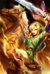 Link - Legend of Zelda by nayuki-chan