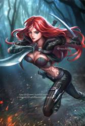 Classic Katarina - League of Legends by nayuki-chan