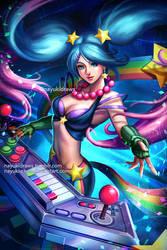 Arcade Sona - League of Legends by nayuki-chan