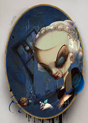 Paint heart black by AlexLandish