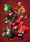 Brutal Mario Bros by AlexLandish