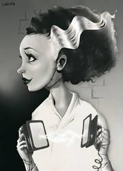 The Bride of Frankenstein by AlexLandish