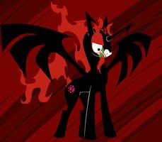 Shapeshifting Pony of Darkness by LordBojangles