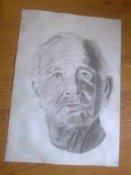 Portrait of an old man by vuk99