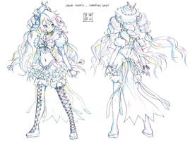 Sailor Polaris Character Sheet by EUDETENIS