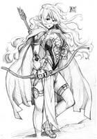 Wild Archer by EUDETENIS
