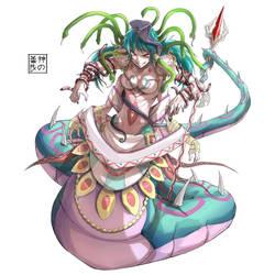 Naga Medusa Level 2 by EUDETENIS