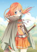 Swordsgirl Adoptable Color by EUDETENIS