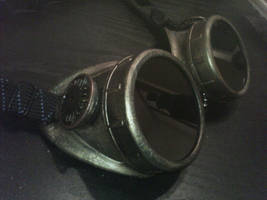 Steam Punk Goggles by SirPreacher