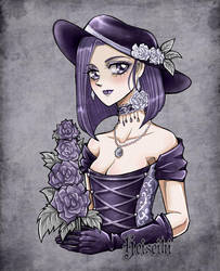 Rose lady by heiseihi